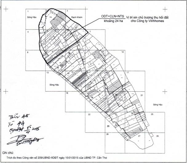 Cần Thơ duyệt quy hoạch Khu biệt thự 24 ha tại cồn Ấu