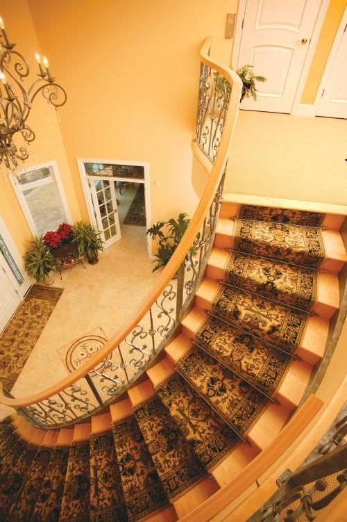Những mẫu cầu thang gỗ đẹp cho biệt thự - Archi