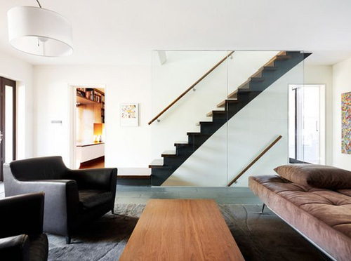 Thiết kế cầu thang kính bền đẹp, sang trọng - 3