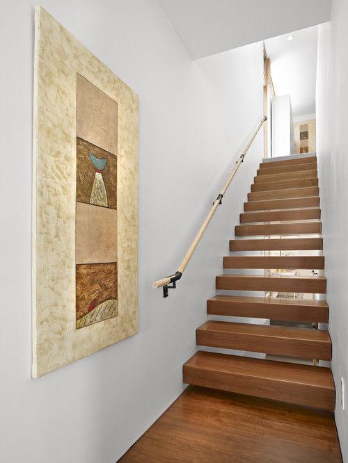Bài trí cầu thang đẹp cho nhà phố hẹp và nhà ống