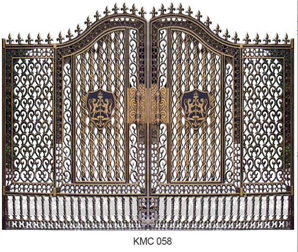 Cổng đúc cao cấp cho biệt thự VIP - 07