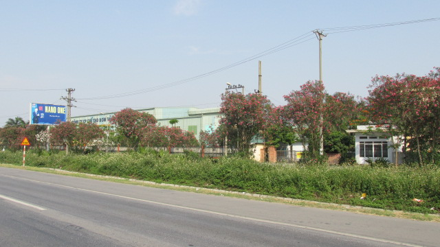 Một góc cụm công nghiệp