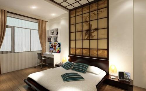 nhà 4 tầng phong cách Nhật