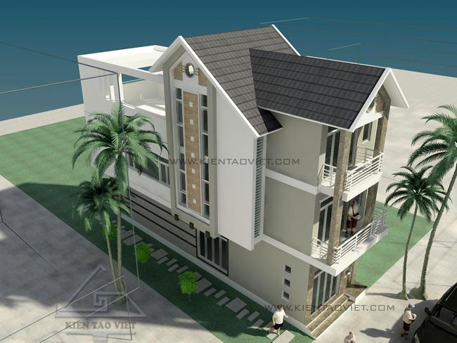 Thiết kế nhà phố 2,5 tầng diện tích 7x15m | ảnh 5