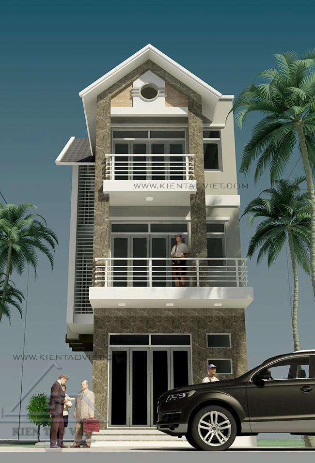 Thiết kế nhà phố 2,5 tầng diện tích 7x15m | ảnh 6