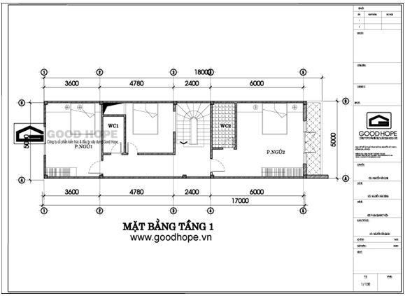 Tư vấn thiết kế nhà phố 3 tầng trên diện tích 5x20m | ảnh 3