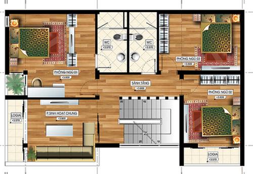 Tư vấn thiết kế nhà đẹp 2 mặt tiền 9m x 15m | ảnh 4