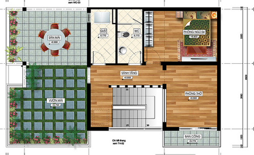 Tư vấn thiết kế nhà đẹp 2 mặt tiền 9m x 15m | ảnh 5