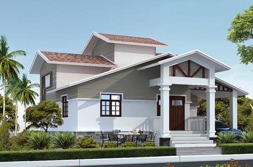 Thiết kế nhà biệt thự nghỉ dưỡng ven đô