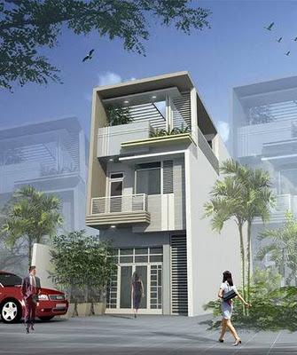Mẫu nhà đẹp - Mẫu nhà 2 tầng hiện đại