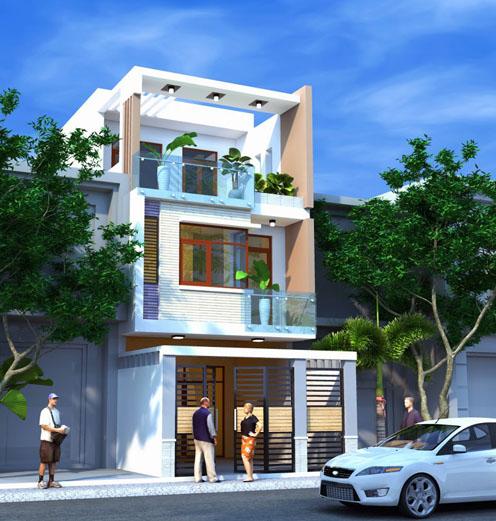 Tư vấn chi phí xây nhà 3 tầng (1 trệt, 2 lầu), diện tích 30m2