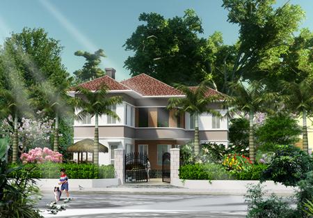 Tư vấn xây nhà biệt thự vườn diện tích đất 9mx20m