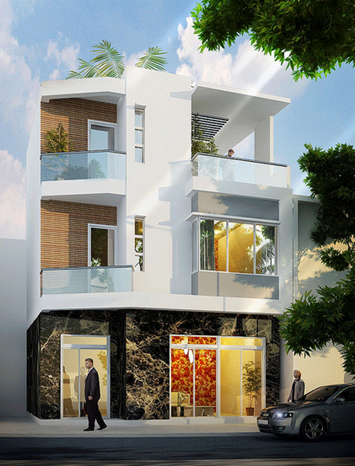 Ngắm những mẫu nhà phố hiện đại | ảnh 2