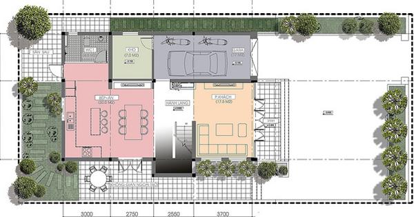 Tư vấn thiết kế biệt thự 3 tầng 12x25m | ảnh 3