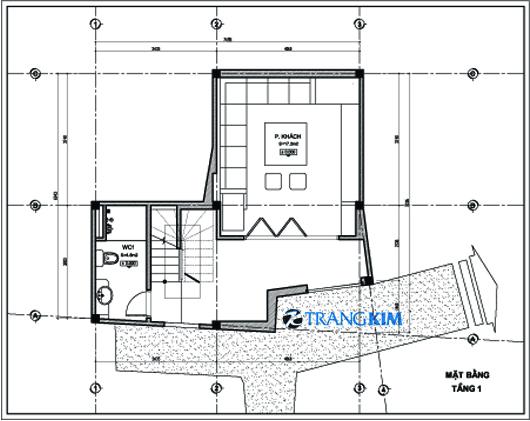 Thiết kế nhà ống 5 tầng   ảnh 1