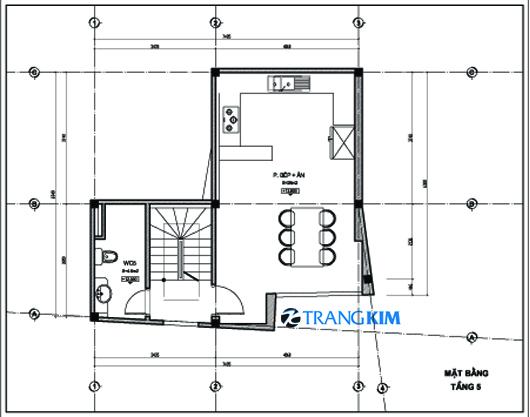 Thiết kế nhà ống 5 tầng   ảnh 5
