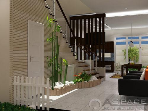 Thiết kế nội thất đẹp cho nhà phố hiện đại