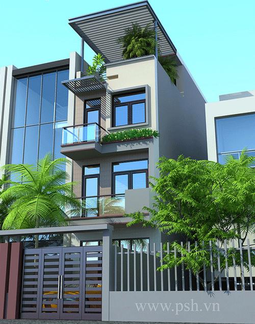 Ngắm những mẫu nhà phố hiện đại | ảnh 4