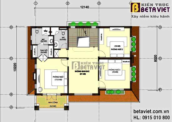 Tư vấn thiết kế xây nhà trên đất hình vuông, diện tích 160m2 | ảnh 2