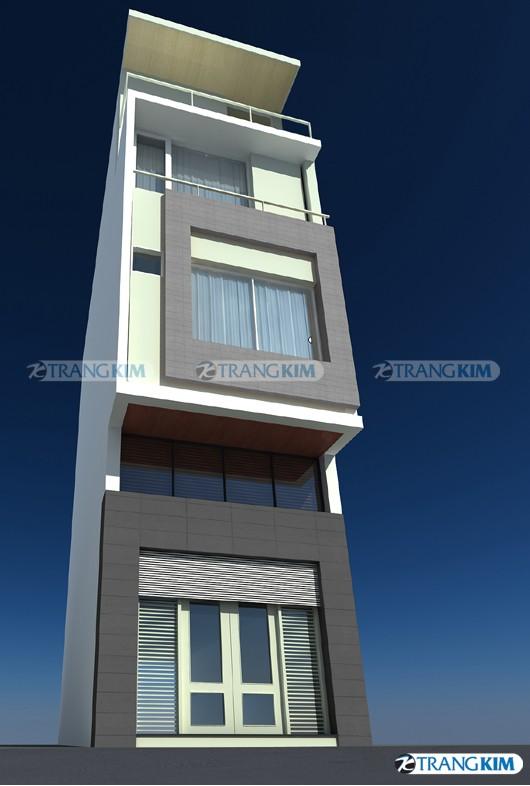 Thiết kế xây nhà 3 tầng trên diện tích 35m2