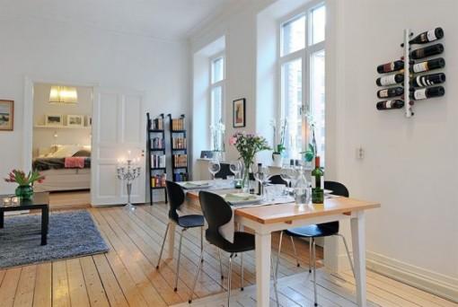 Mẫu thiết kế nội thất duyên dáng dành cho căn hộ chung cư