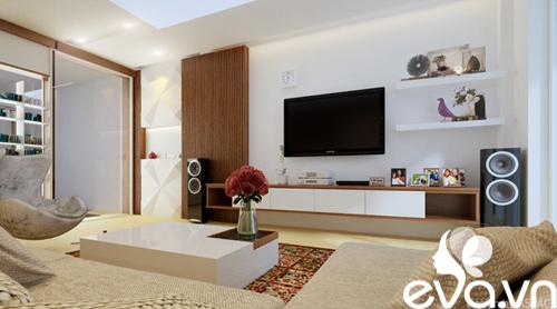 Thiết kế nhà liền kề 60m2 hiện đại, ấm cúng - 10