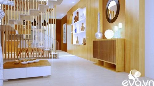 Thiết kế nhà liền kề 60m2 hiện đại, ấm cúng - 4