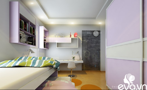 Thiết kế nhà liền kề 60m2 hiện đại, ấm cúng - 18