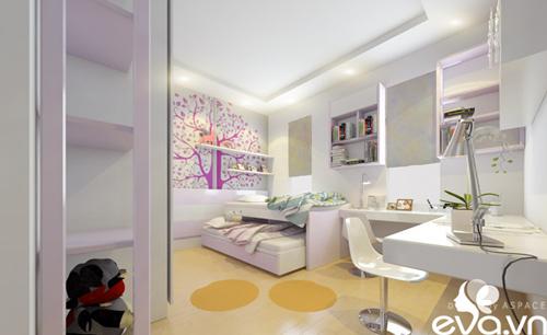 Thiết kế nhà liền kề 60m2 hiện đại, ấm cúng - 17