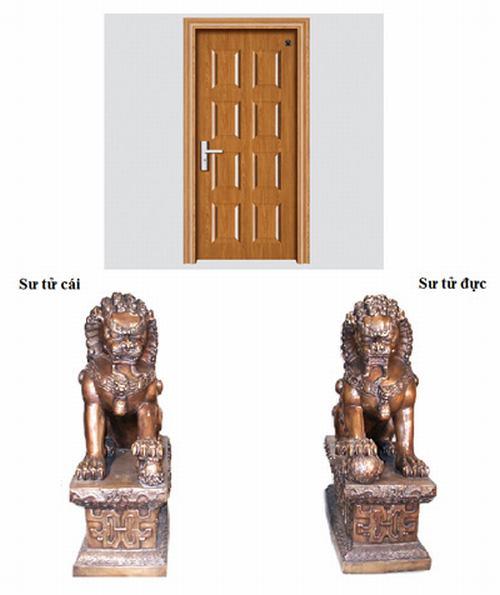 1089 Tư vấn đặt tượng sư tử trong phong thủy nhà ở và văn phòng