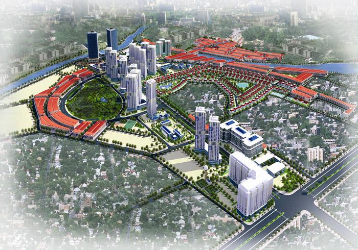Điều chỉnh cục bộ quy hoạch tỷ lệ 1/500 Khu đô thị mới Mỗ Lao