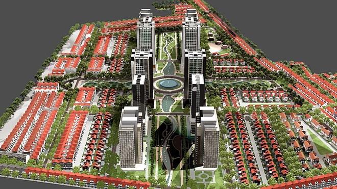 Hà Nội điều chỉnh tổng thể quy hoạch khu đô thị mới Nam đường 32