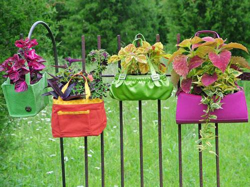 Làm đẹp khu vườn bằng những vật dụng cũ | ảnh 1