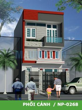 Mẫu thiết kế nhà trên diện tích 76m2
