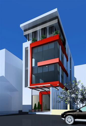 Tư vấn thiết kế nhà 4 tầng diện tích 72m2 -(5x 14,5m)