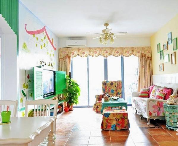 Thiết kế nội thất-Không gian cổ tích trong căn hộ 85m2