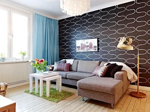 Thiết kế nội thất-Căn hộ 60m2 quyến rũ