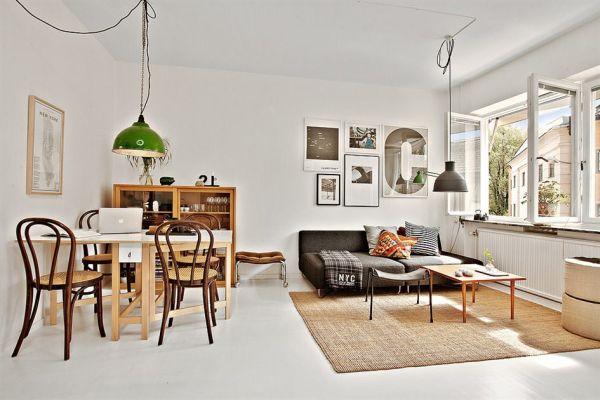 Thiết kế nội thất cho căn hộ 35m2 theo phong cách trang nhã